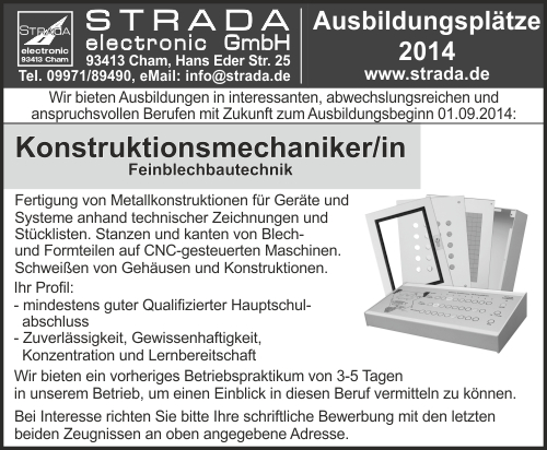 Konstruktionsmechaniker/in